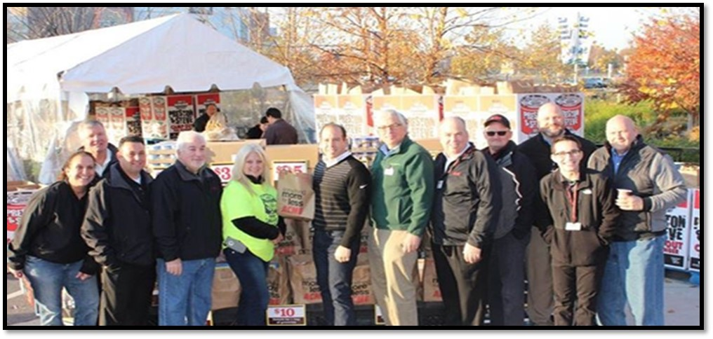 ACME participates in WMMR's annual Camp Out for Hunger
