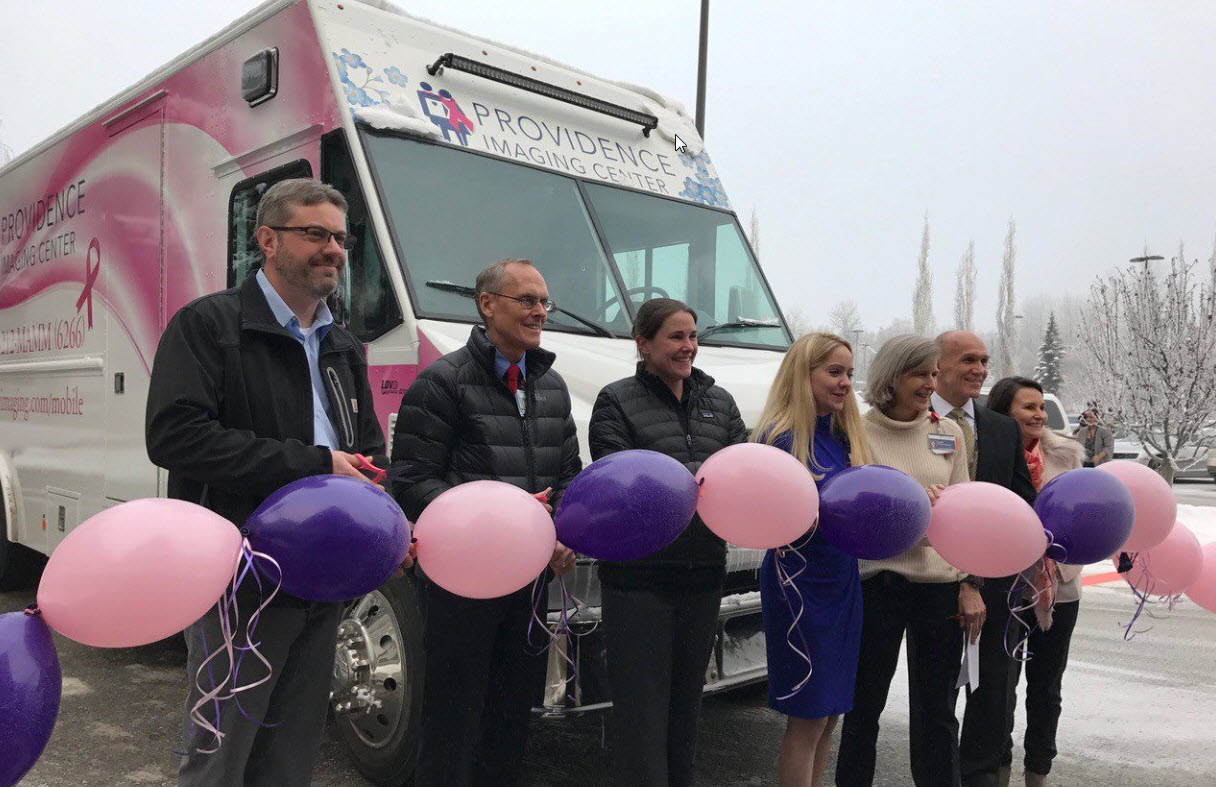 CARRS/Safeway Funds Mobile Mammography in Alaska